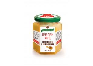 Пчелен мед с джинджифил и лимонови кори