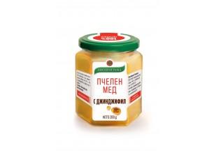 Пчелен мед с джинджифил